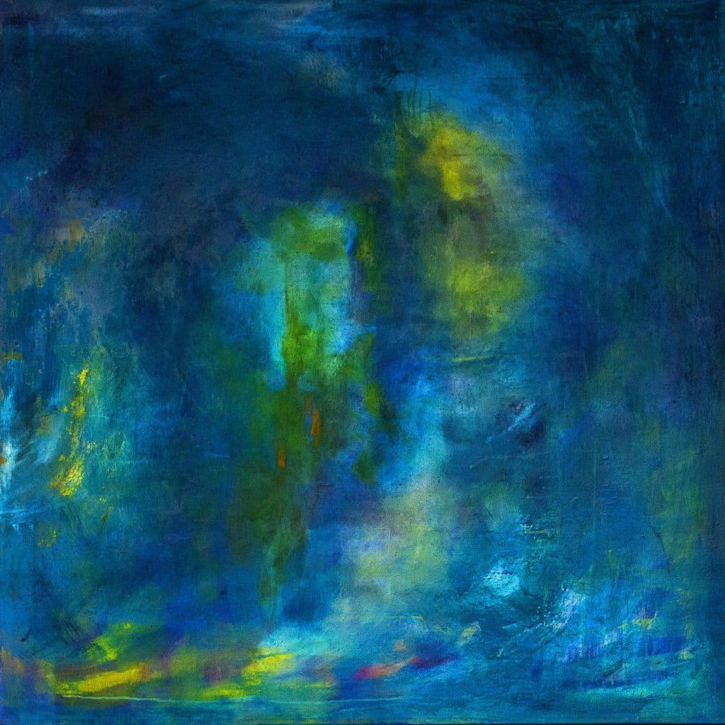 Tavla från Ewa Kinnunen - Ewaki Art - Stora blå