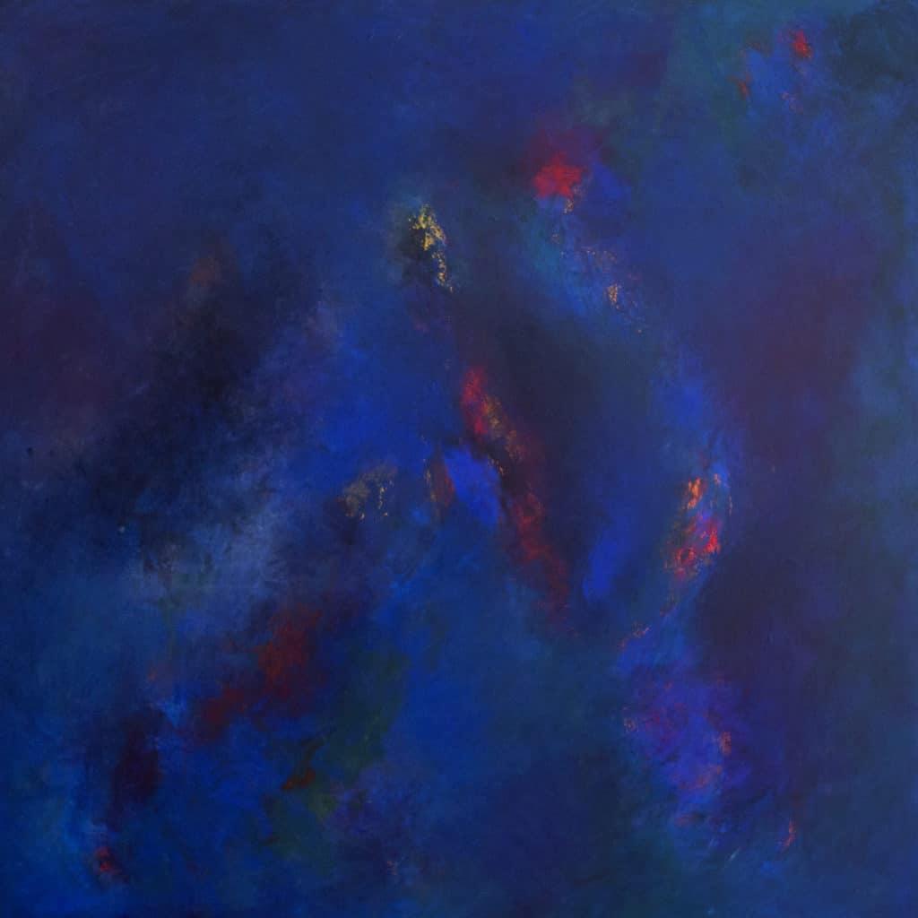 Tavla från Ewa Kinnunen - Ewaki Art - Blå